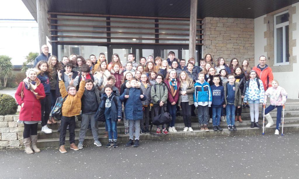 Journée d'intégration pour les CM bilingues de l'Argoat et de Guissény