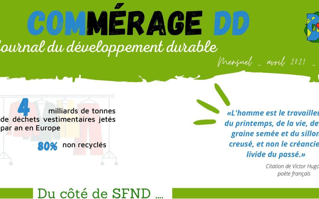 Journal du Développement Durable Avril