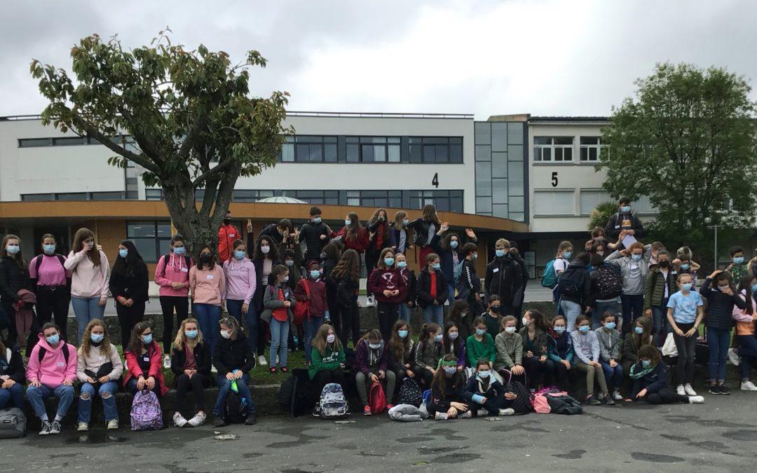 79 collégiens/lycéens éco-délégués en visite