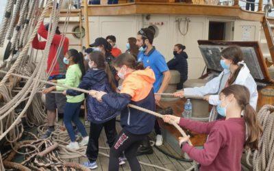 Les élèves de Saint-François- Notre Dame prennent la mer !